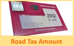 check-road-tax-amount